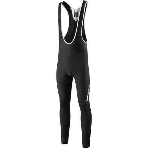 Madison Sportive Fjord DWR Men's Bib Tights with Pad - Black