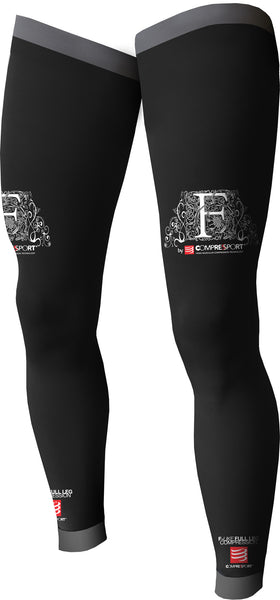 Compressport Full Leg Compression - Black