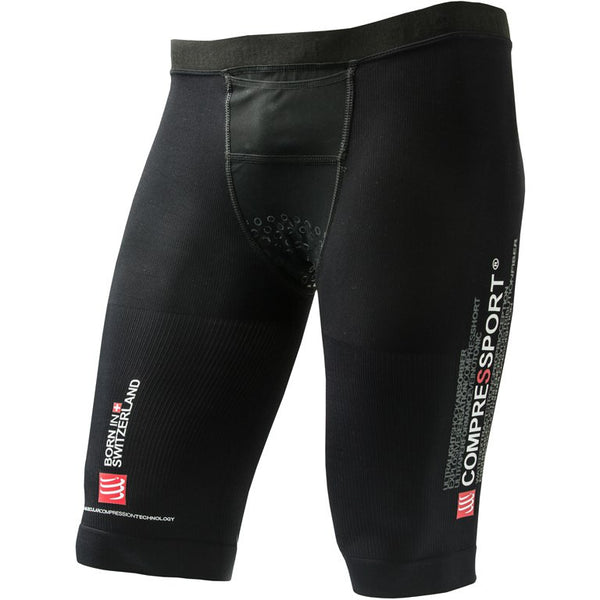 Compressport Triathlon Short, Black, Size 1