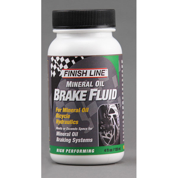 Finish Line Mineral Oil Brake Fluid - 4 oz/120 ml
