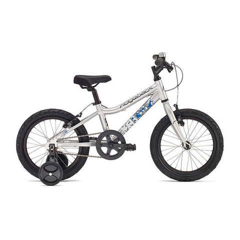 Ridgeback MX16 16 inch Wheel Bike-Gloss Silver