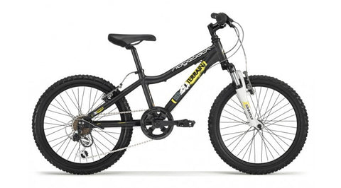 Ridgeback MX20 Wheel Bike - Matte Black