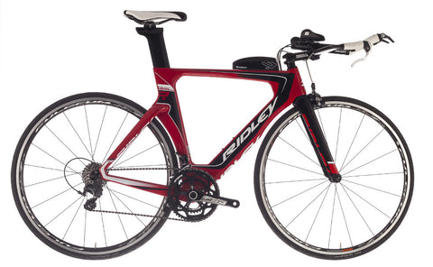 Ridley Dean Red/White/Black time trial / triathlon frameset