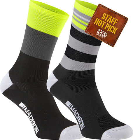Madison Sportive Men's Long Sock - Twin Pack