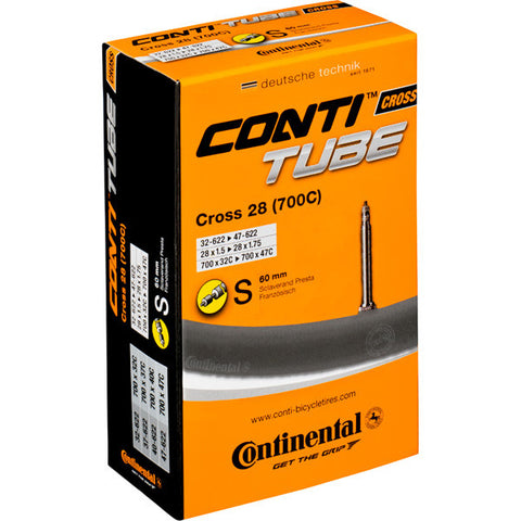 Continental Cross 700 x 32 - 42C Presta Inner Tube