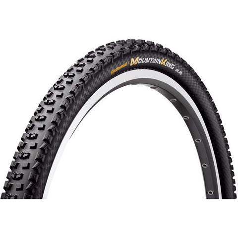 Continental Mountain King II ProTection 27.5 x 2.2 - Black Chili Folding Tyre
