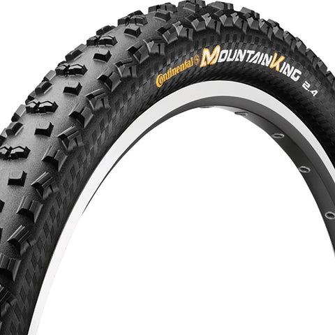 Continental Mountain King II RaceSport Chili Folding Tyre - Black