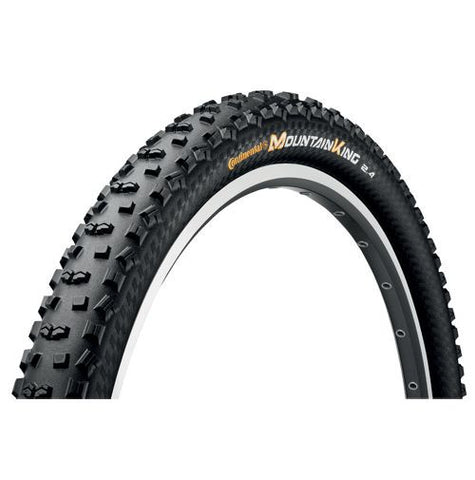 Continental Mountain King II ProTection 27.5 x 2.4 Folding Tyre - BlackChili