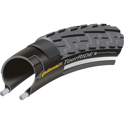 Continental Tour Ride Tyre - Black