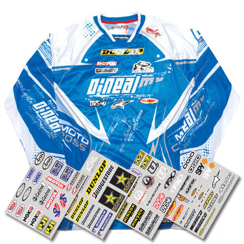 Factory Effex Jersey Iron On - Sponsor Kit
