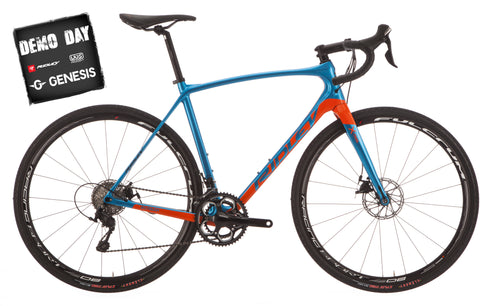 X-Trail C Rival 1 Disc Bluegreen/Orange w/Hyraulic brakes