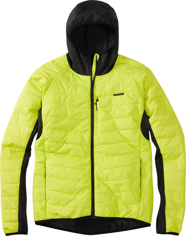 DTE men's hybrid jacket, limeaid