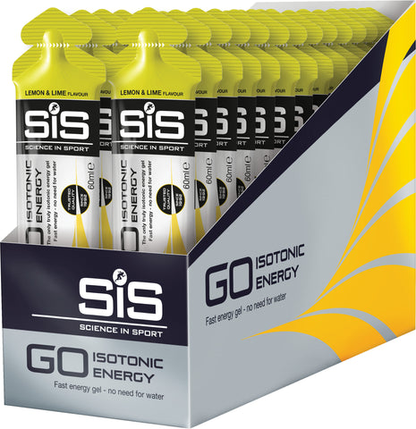 GO Isotonic Energy Gel - lemon / lime