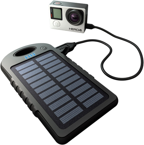 Dual Charge - USB Powerbank with Solar Charger