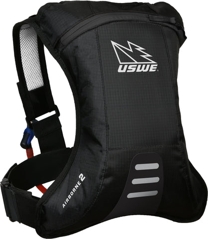 Airborne 2 Hydration Pack With 2.0L Shape-Shift Bladder Carbon Black