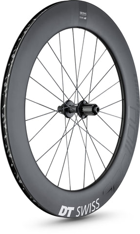 ARC 1100 DICUT disc brake wheel, carbon clincher 80 x 17 mm rim, rear