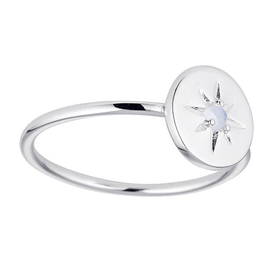 Dainty Enchanted Light Ring - Sterling Silver
