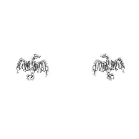 Dracarys Studs - Sterling Silver