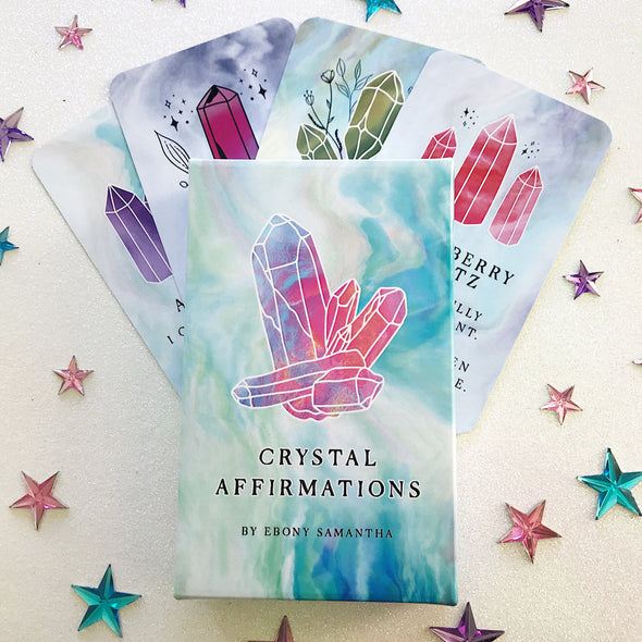 Crystal Affirmation Cards - *PRE-ORDER*