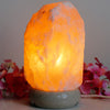 Himalayan Salt Lamp - 2-3kg Natural Shaped - Marble Base