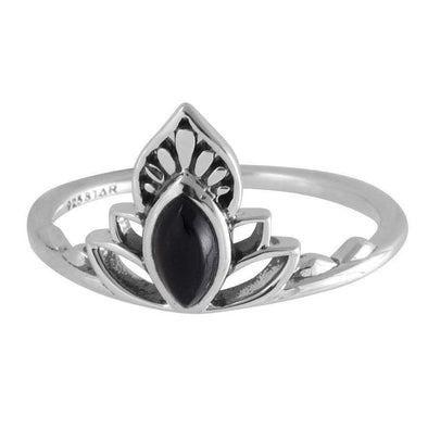 Discovery Black Onyx Ring - Sterling Silver