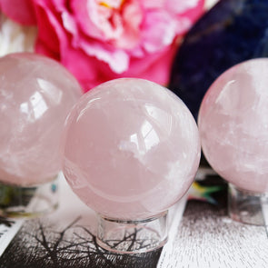 Rose Quartz Sphere *