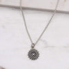 Daisy Necklace - Sterling Silver