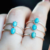 Turquoise Ring - Sterling Silver