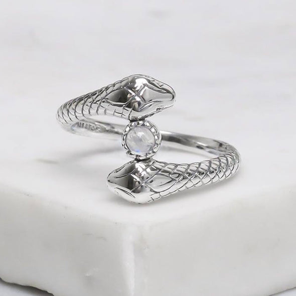 Romancing the Stone Ring - Sterling Silver
