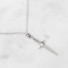 Cosmic Dagger Necklace - Sterling Silver