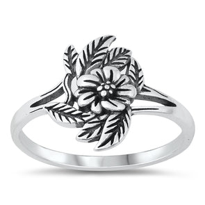 Flora Ring - Sterling Silver