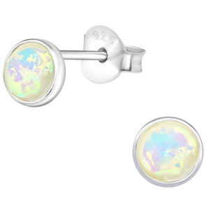 Snow Lila Earrings - Sterling Silver