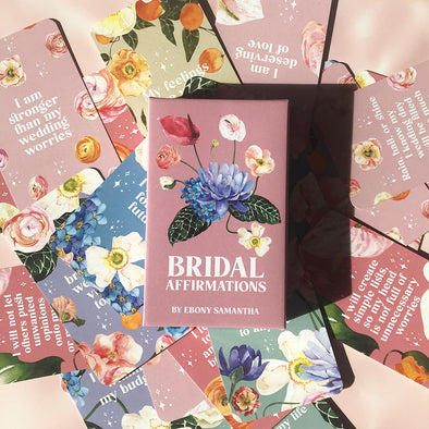 Bridal Affirmation Cards
