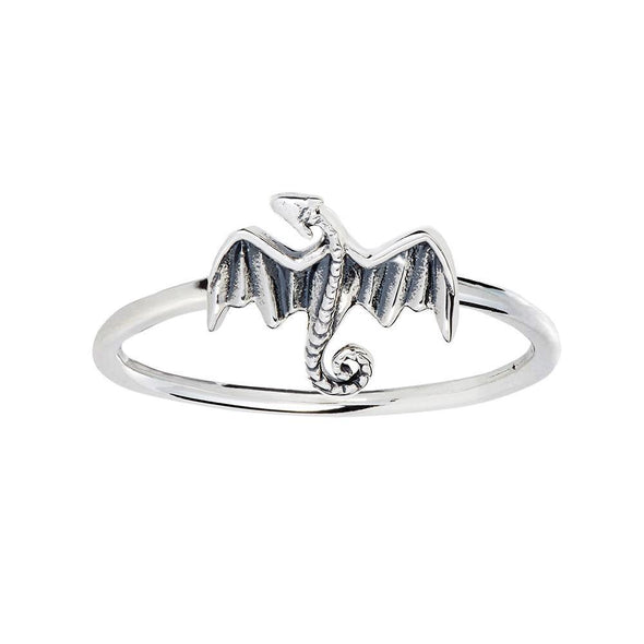 Dracarys Ring - Sterling Silver