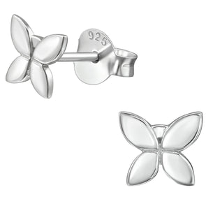 Silver Butterfly Earrings - Sterling Silver