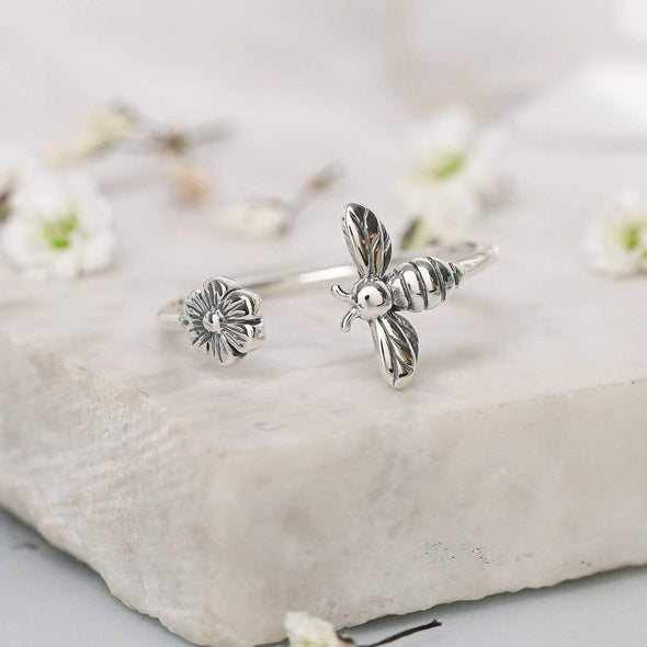 Meant To Bee Ring - Sterling Silver