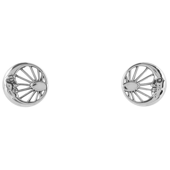 Ray Of Light Studs - Sterling Silver