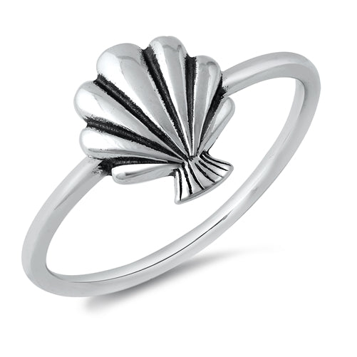 Seashell Ring - Sterling Silver