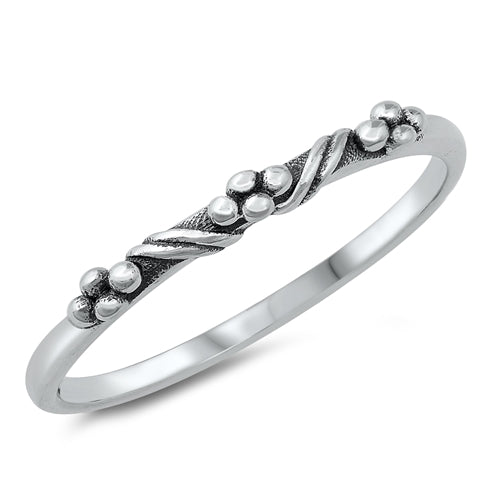 Stacking Ring #1 - Sterling Silver