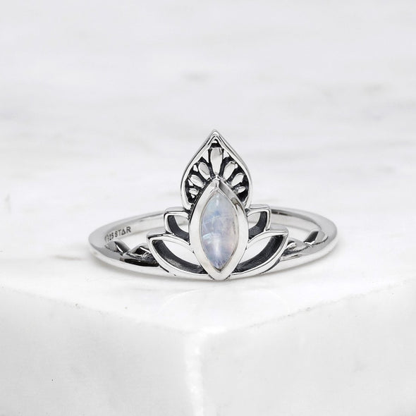 Discovery Moonstone Ring - Sterling Silver
