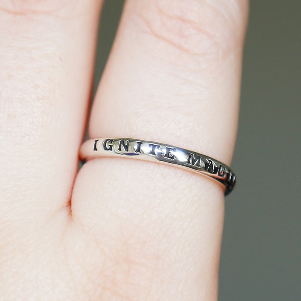 Ignite Magick Ring - Sterling Silver