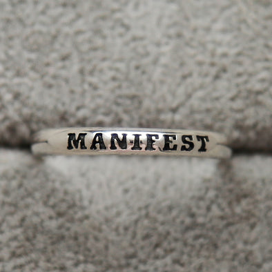 Manifest Ring - Sterling Silver