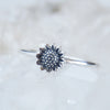 Sunflower Ring - Sterling Silver