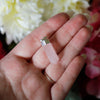 Sterling Silver Rose Quartz Pendant #3