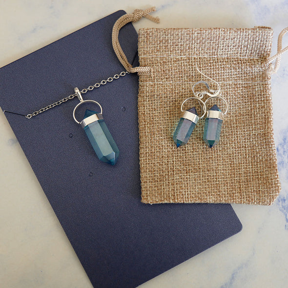 Aqua Aura Quartz - Gift Set