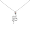 Divine Serpent Opal Necklace - Sterling Silver