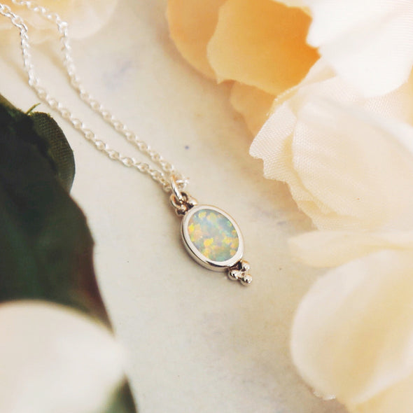 Moon Song Necklace - Sterling Silver