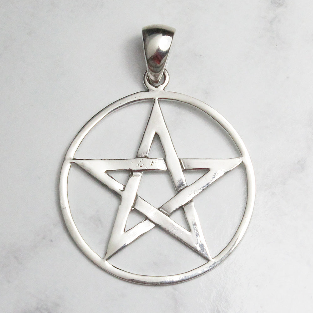 Pentacle Pendant - Sterling Silver