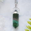Rainbow Fluorite Necklace - Piece #43