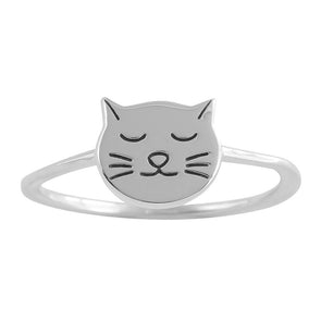 Purrfect Ring - Sterling Silver